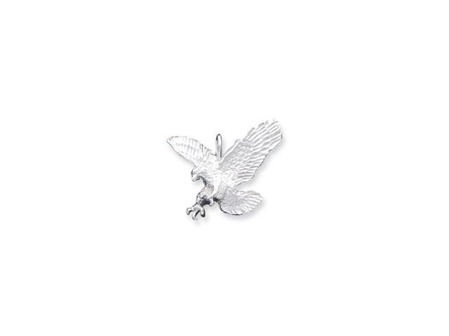 Sterling Silver Preying Eagle Pendant