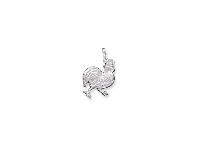 Sterling Silver Rooster Charm