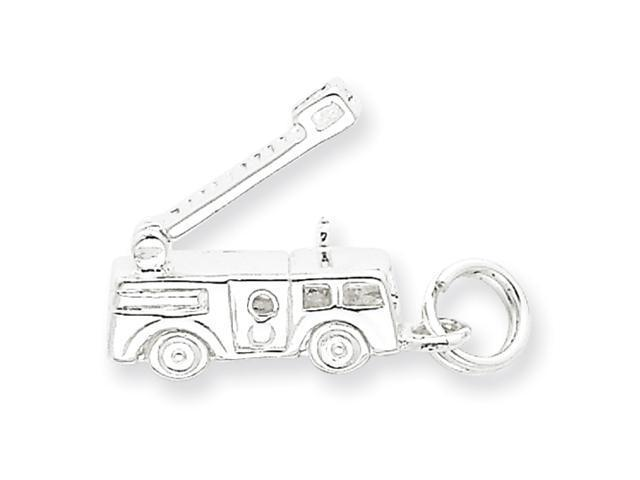 Sterling Silver Firetruck Charm