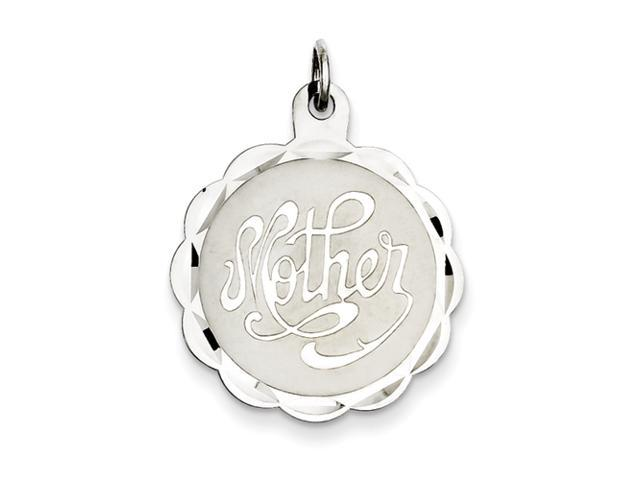 Sterling Silver Mother Disc Charm