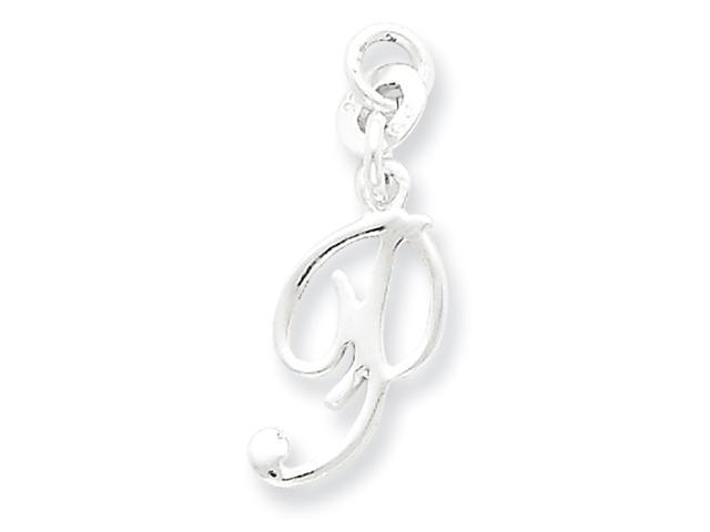 Sterling Silver Initial P Pendant