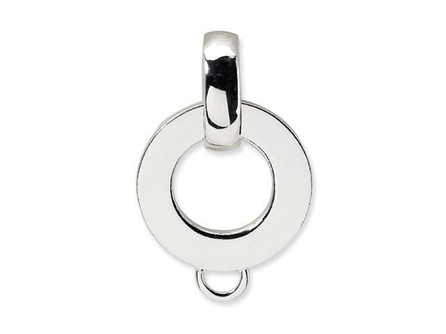Sterling Silver Charm Holder Pendant