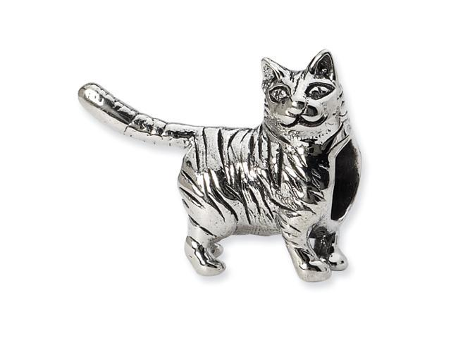 Sterling Silver Reflections American Shorthair Cat Bead