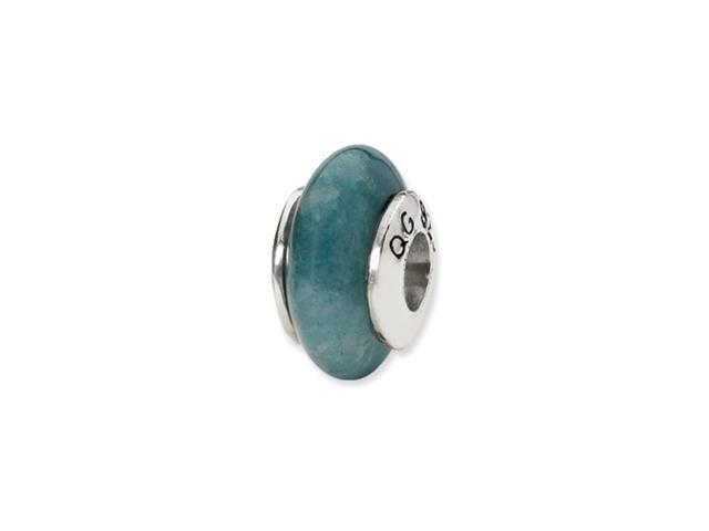 Sterling Silver Reflections Apatite Stone Bead
