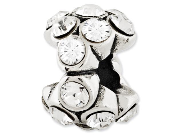 Sterling Silver Reflections Swarovski Elements Bead