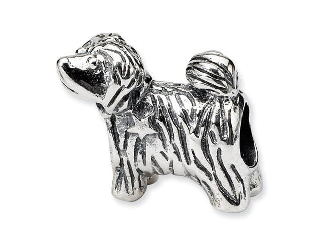Sterling Silver Reflections Puppy Bead