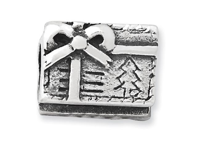 Sterling Silver Reflections Kids Christmas Present Bead
