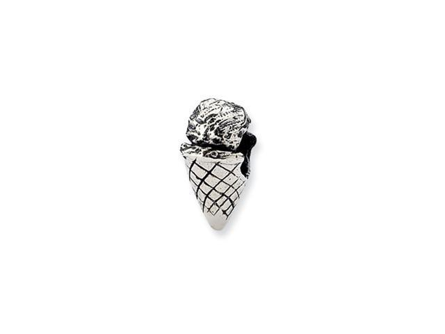 Sterling Silver Refelections Ice Cream Cone Bead