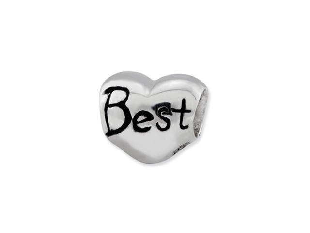 Sterling Silver Reflections Kids Best Friend Heart Bead