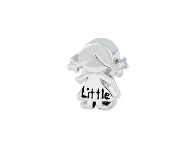 Sterling Silver Reflections Little Sister Girl Bead