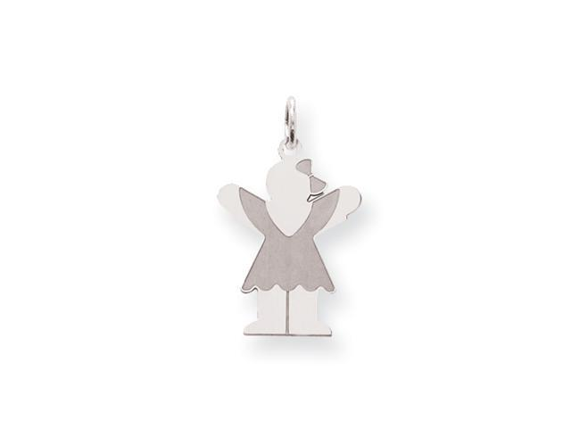 Sterling Silver Love Kid Charm