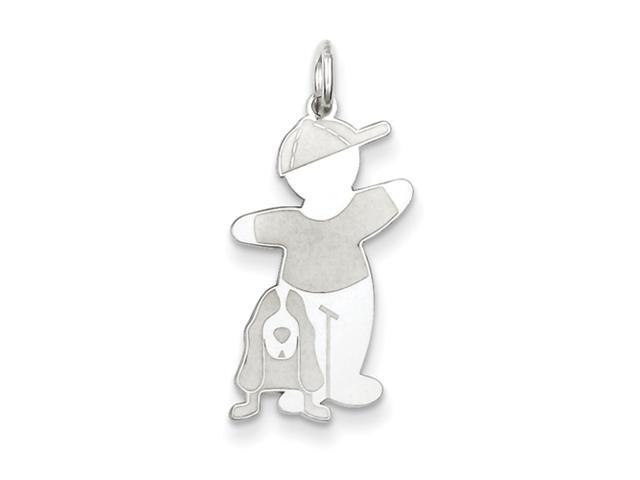 Sterling Silver Bow Wow Cuddle Charm