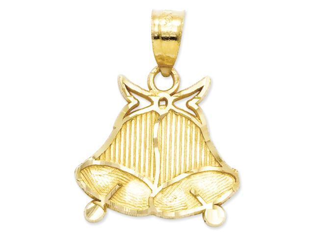 14k Wedding Bells Pendant