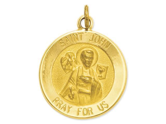 14k Saint John Medal Charm