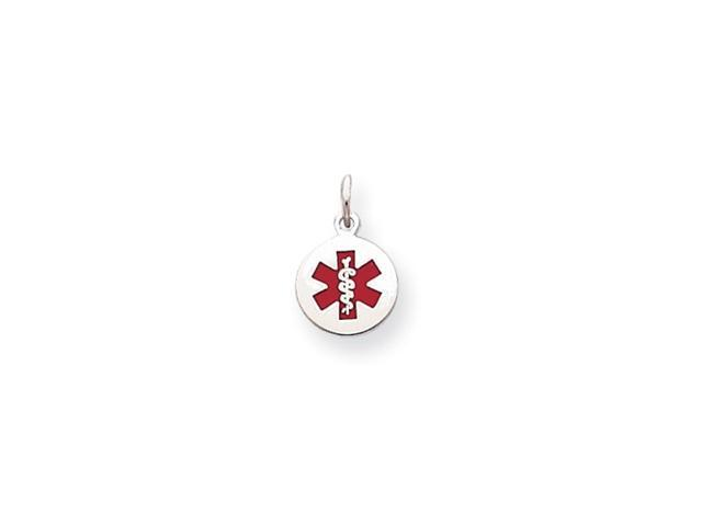 Sterling Silver Medical Jewelry Charm