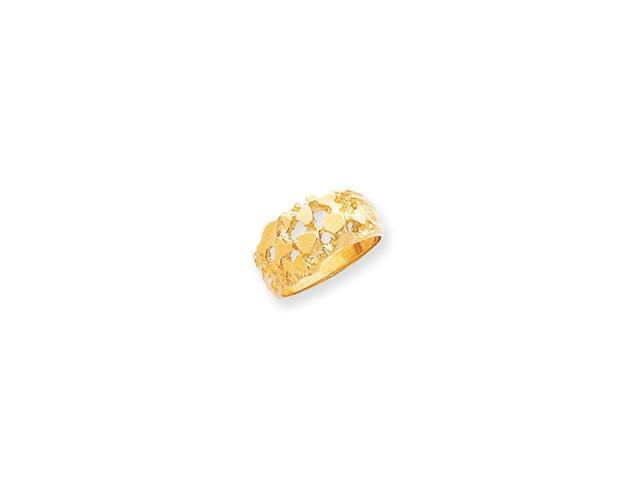 14k Men's Nugget Ring