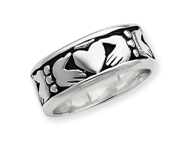 Sterling Silver Claddagh Design Ring