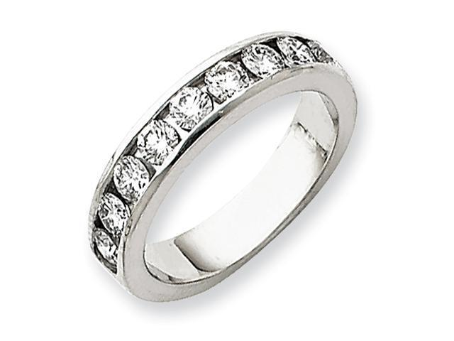 Platinum VS Diamond channel band Diamond quality VS (VS2 clarity, G-I color)