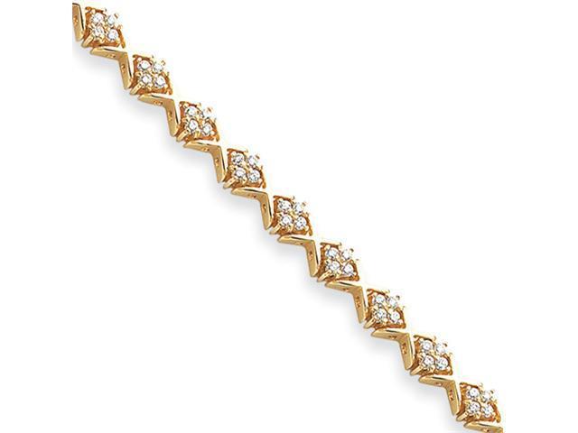 14k 1.9mm Diamond Tennis Bracelet Mounting
