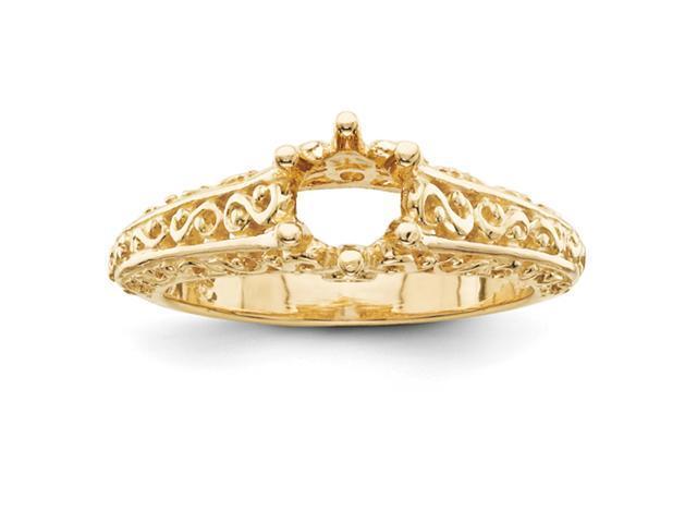 14k Engagement Ring Mounting
