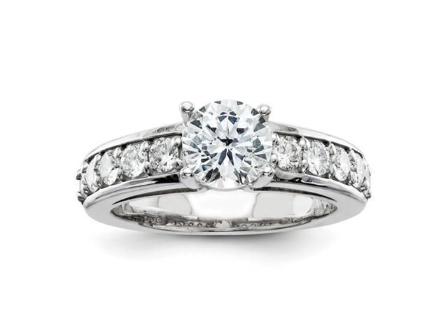 14kw AA Dia Ring Diamond quality AA (I1 clarity, G-I color)