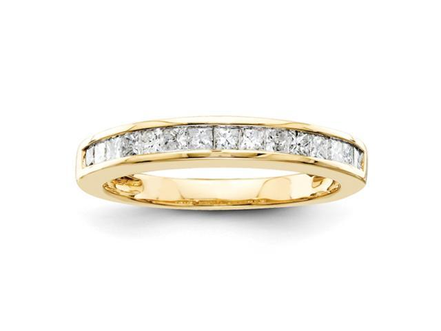 14k A Quality Complete Diamond Wedding Band Diamond quality A (I2 clarity, I-J color)