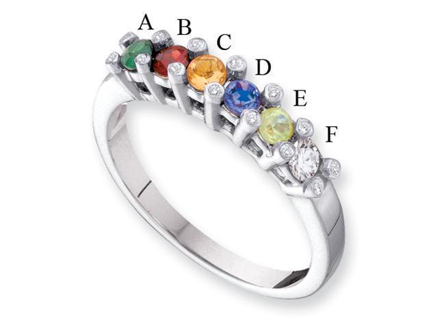 14KW Family Jewelry Diamond Semi-Set Ring