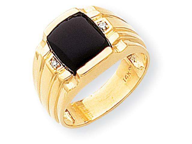14k AA Diamond men's ring Diamond quality AA (I1 clarity, G-I color)
