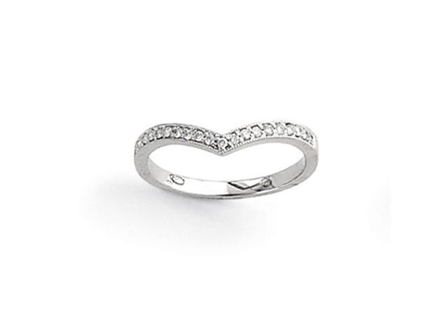 14k White Gold AA Diamond Ring Diamond quality AA (I1 clarity, G-I color)