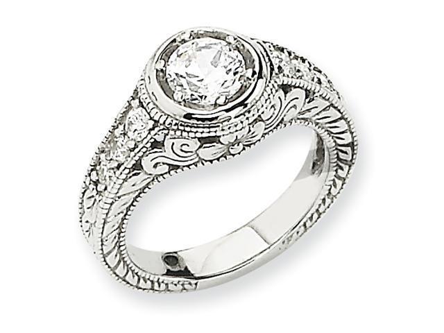 14k White Gold Engagement Ring Mtg