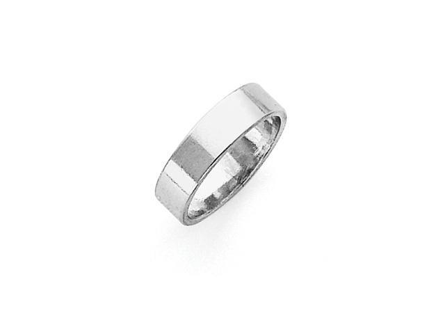 Sterling Silver 5mm Flat Band