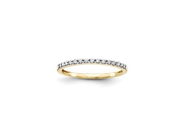 14k Diamond Wedding Band Diamond quality AA (I1 clarity, G-I color)