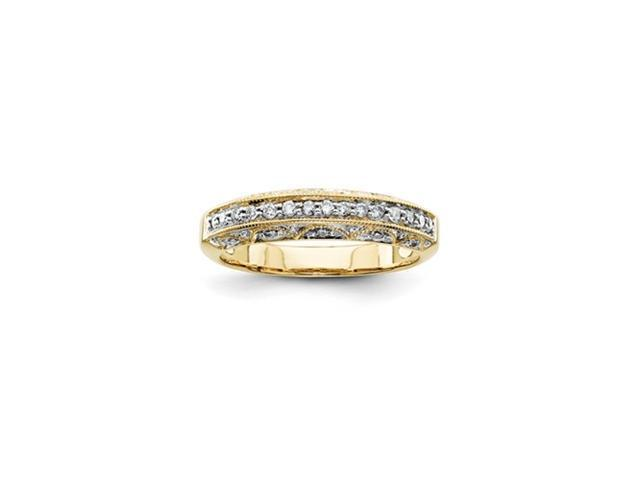 14k Diamond Wedding Band Diamond quality AA (I1 clarity, G-I color)