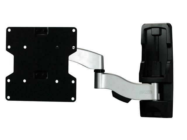 "Dyconn Invisible IN221 Ultra Slim Aluminum Articulating TV Wall Mount for 22""- 45"" - OEM"