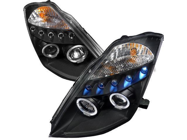 Nissan 350Z LED Projector Headlight JDM Black