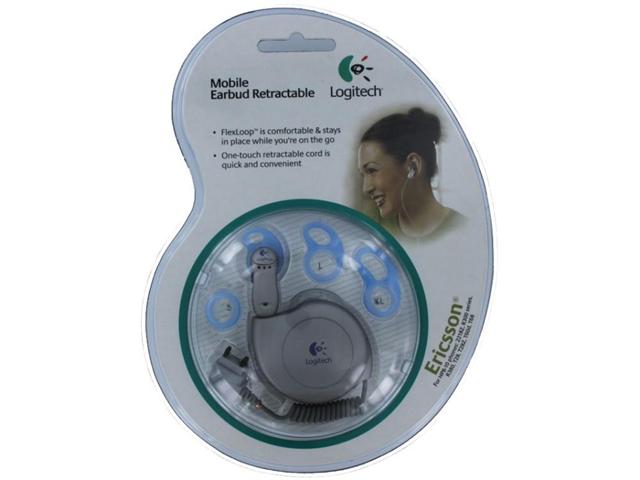 Logitech Ericsson Mobile Earbud Retractable 980142-0403