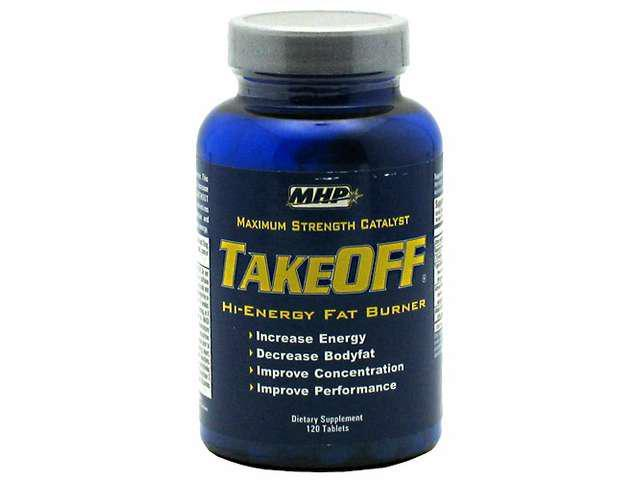 MHP TakeOff, Hi-Energy Fat Burner, 120 Capsules, Take-Off