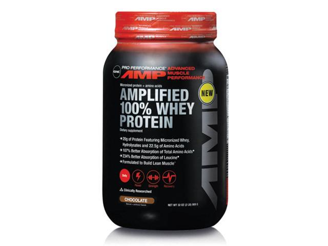 GNC Pro Performance AMP Whey Protein 2lbs - Chocolate