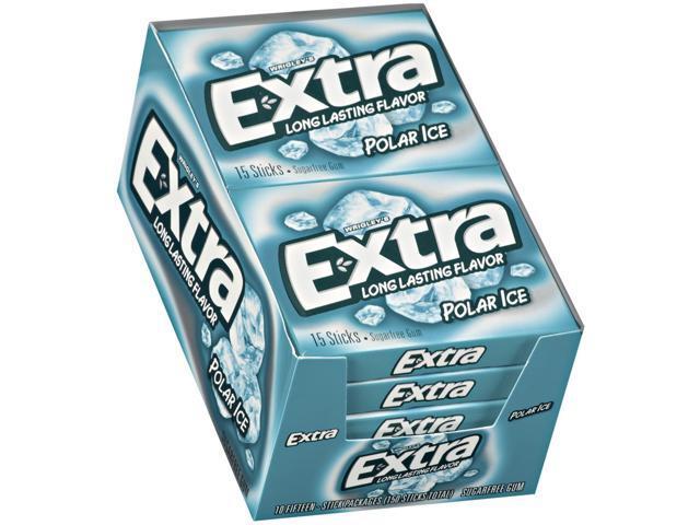 Wrigley's Polar Ice Gum - 10/15 ct. packs