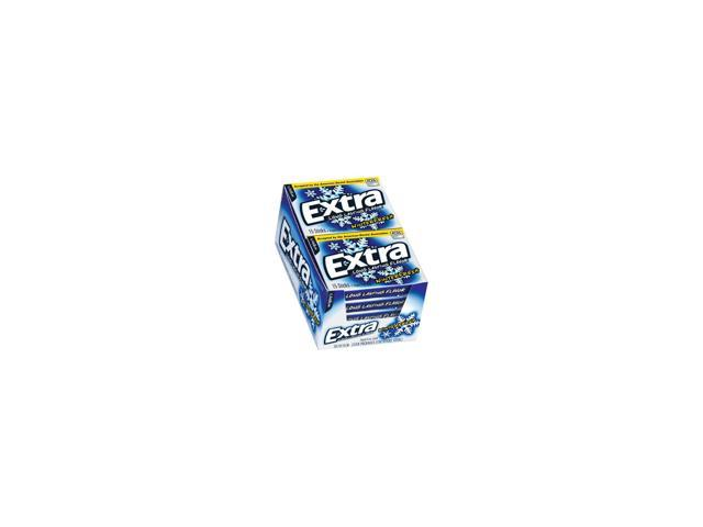Extra Winterfresh Sugarfree Gum - 10/15 piece pks.