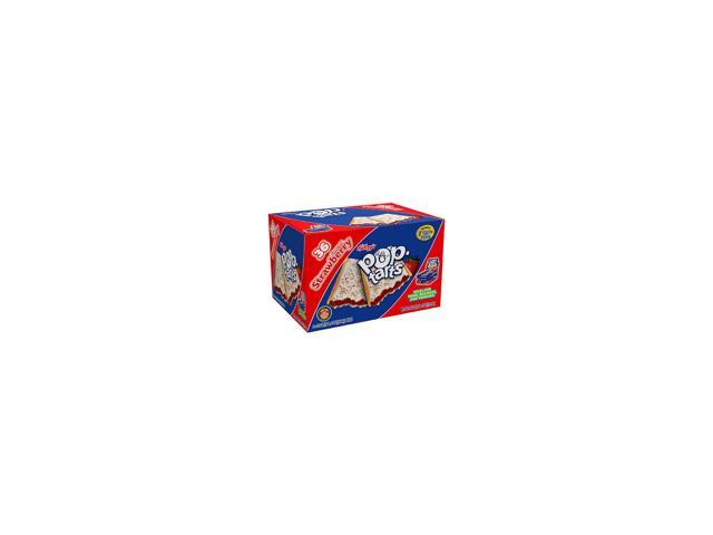 Pop-Tarts Toaster Pastries, Frosted Strawberry, 36ct