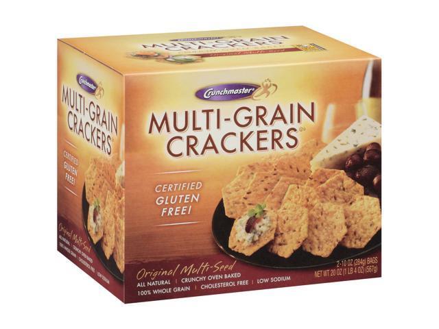 Crunchmaster Multi-Grain Crackers Gluten Free 20 oz.