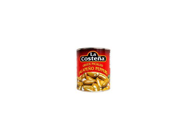 La Costena Jalapeno Peppers - 93 oz. can