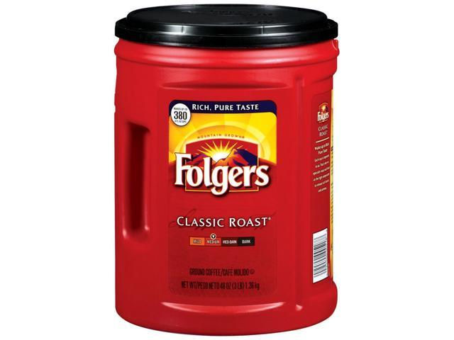 Folgers Classic Roast Ground Coffee - 48 oz.
