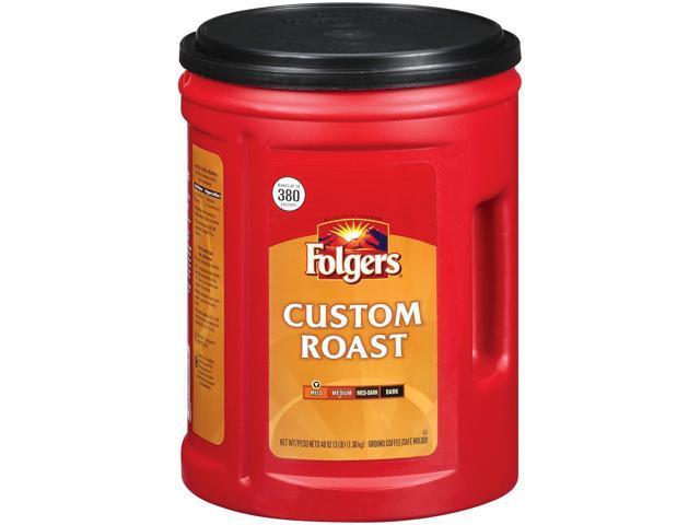Folgers Custom Roast Ground Coffee - 48 oz.