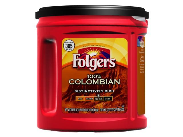 Folgers Colombian Ground Coffee 35 oz.