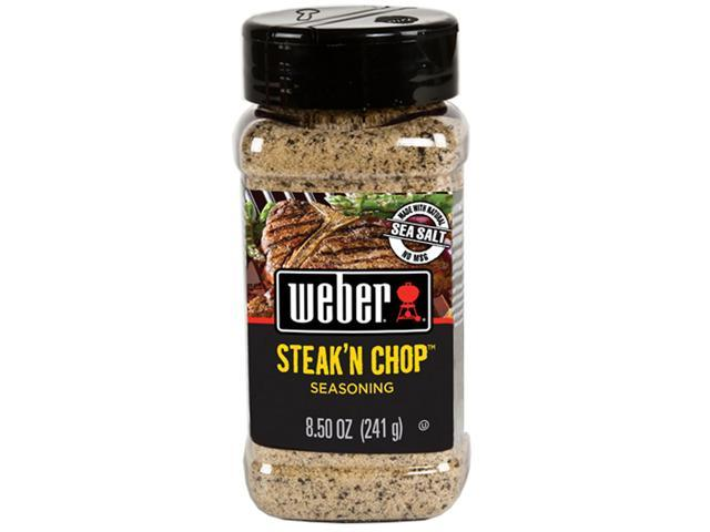 Weber Steak 'n Chop Seasoning - 8.5 oz