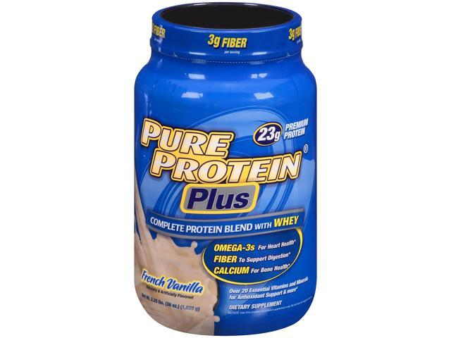 Pure protein plus powder review