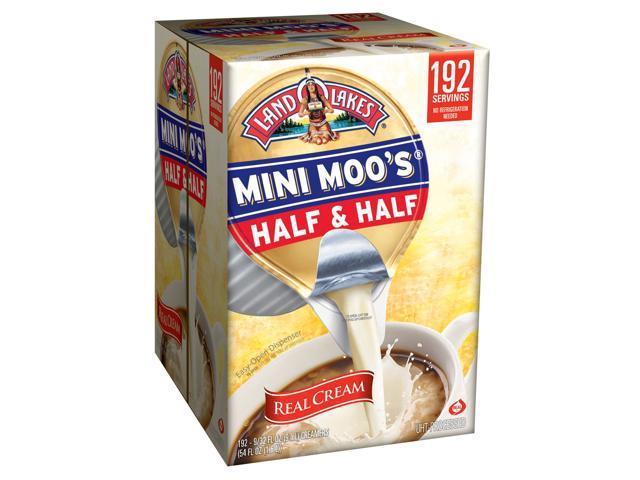 Land O' Lakes - Mini Moo's Real Half & Half Creamer Tubs - 192 Count