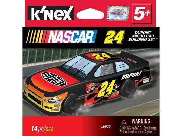 K'Nex NASCAR Micro Car Building set #24 Dupont Car
